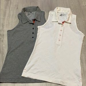 Nike golf xs two sleeveless